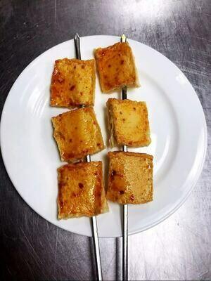 KLM【坤拉面】烤千页豆腐串 BBQ Tofu Sheets Skewers  (每周三休息)