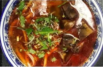 KLM【坤拉面】麻辣牛筋拉面/刀削面 Spicy Beef Tendon Ramen (每周三休息)