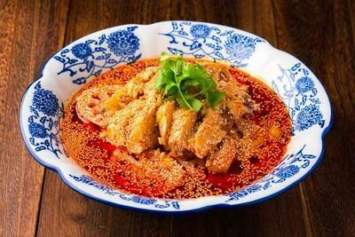 XXKT【小熊川菜KT】❄荷心口水鸡 Lotus Root Mouth Watering Chicken
