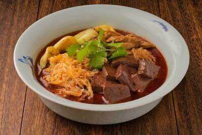 XXCT【小熊川菜CT】乡村毛肠旺 Country Style Blood Curd Dish (除节假日外每周二休息)