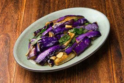XXCT【小熊川菜CT】九层塔茄子 Basil Chinese Eggplant (除节假日外每周二休息)