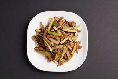 XXCT【小熊川菜CT】香干肉丝 Shredded Pork with Spiced Dry Tofu (除节假日外每周二休息)