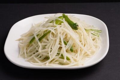 XXCT【小熊川菜CT】炒土豆丝 Sauteed Shredded Potato (除节假日外每周二休息)