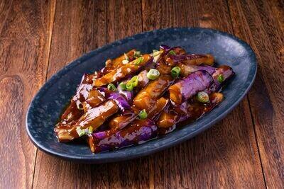 XXCT【小熊川菜CT】鱼香茄子 Chinese Eggplant in Spicy Garlic Sauce (除节假日外每周二休息)