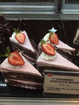 【85°C】❄STRAWBERRY CHOCOLATE MOUSSE (每天9:00AM截单)