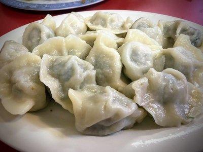 WJX【味佳香】韭菜猪肉水饺 Pork & Leek Dumplings (15 pcs)(每周一休息)