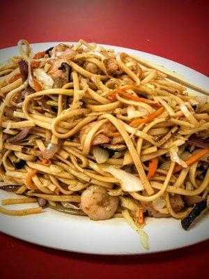 WJX【味佳香】虾炒面  Shrimp Fried Noodle(每周一休息)