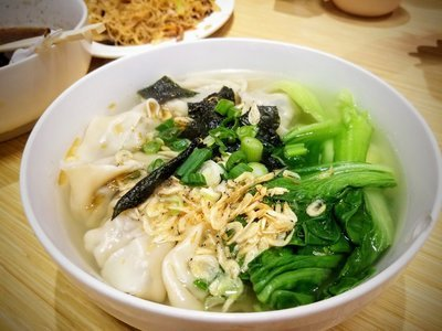 WJX【味佳香】虾肉小馄饨 Shrimp Wonton Soup (12 pcs)(每周一休息)