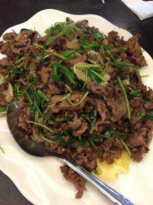 DYC【独一处】孜然羊肉 Sauteed Lamb W/ Cumin