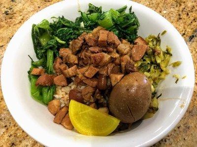 WJX【味佳香】台灣滷肉飯 Braised pork on rice  (每周一休息)