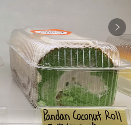 LP【六品】香兰椰子卷 Pandan Coconut Roll (Cut-off @9:00AM)