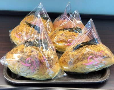 LP【六品】全麦海苔肉松面包 Wheat Bread with Seaweed & Pork Sung (Cut-off @9:00AM)