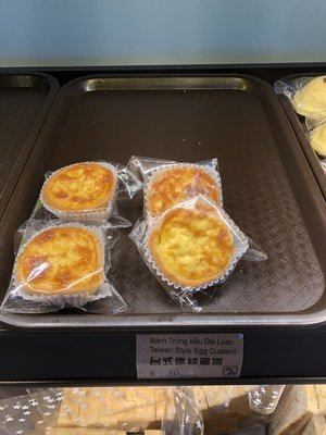 LP【六品】台式传统蛋挞 Taiwan Style Egg Custard (Cut-off @9:00AM)