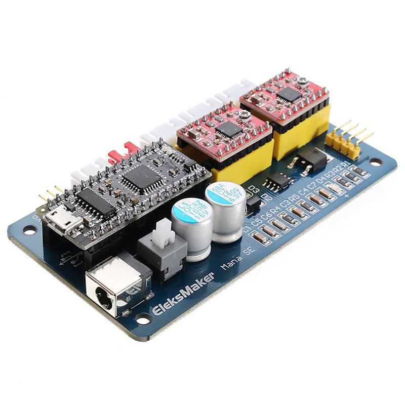 ManaSE 2 Axis Stepper Motor Driver Controller Board For EleksMaker Engraver