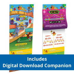 Math Mights 8-in-1 Flip Chart: Subtraction Strategies + Digital Download Companion