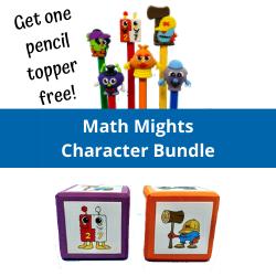 Math Mights Character Bundle