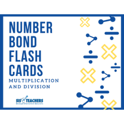 Number Bond Flash Cards: Multiplication and Division