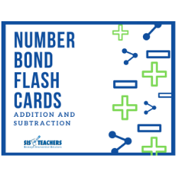 Number Bond Flash Cards: Addition and Subtraction