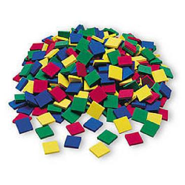 Foam Square Color Tiles (400)