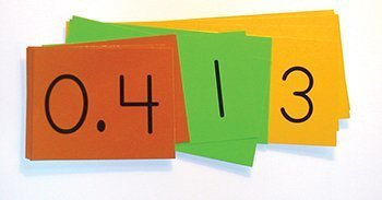 Place Value Decimal Strips (DEMO Size) 402643
