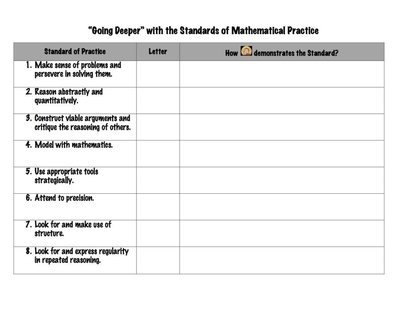 8 Standards for Mathematical Practice and Big Bang Theory