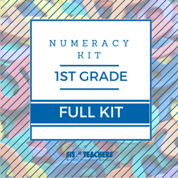 1st Grade Numeracy Kit - FULL NUMKIT-1-F