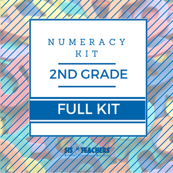 2nd Grade Numeracy Kit - FULL NUMKIT-2-F