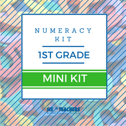 1st Grade Numeracy Kit - MINI