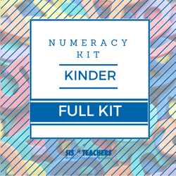 Kindergarten Numeracy Kit - FULL NUMKIT-K-F