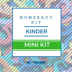 Kindergarten Numeracy Kit - MINI NUMKIT-K-M