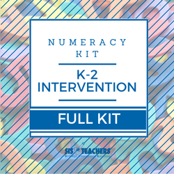 K-2 Intervention Numeracy Kit - FULL NUMKIT-K2-F