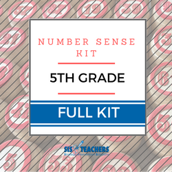 5th Grade Number Sense Kit - Full NUMKIT-5-F
