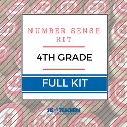 4th Grade Number Sense Kit - Full NUMSEN-4-F