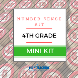 4th Grade Number Sense Kit - Mini NUMSEN-4-M