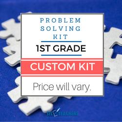 1st Grade Problem Solving Kit - Custom