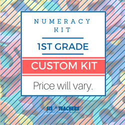 1st Grade Numeracy Kit - Custom NUMKIT-1-C