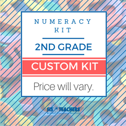 2nd Grade Numeracy Kit - Custom