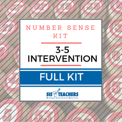 3-5 Intervention Number Sense Kit - FULL