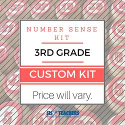 3rd Grade Number Sense Kit - Custom NUMSEN-3-C