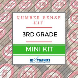 3rd Grade Number Sense Kit - Mini NUMSEN-3-M
