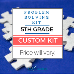 5th Grade Problem Solving Kit - Custom