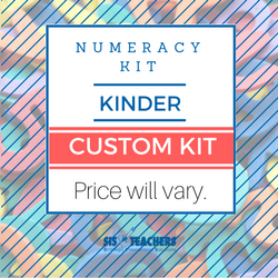 Kindergarten Numeracy Kit - Custom