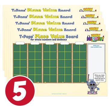 T-Pops' Place Value Mats 133034