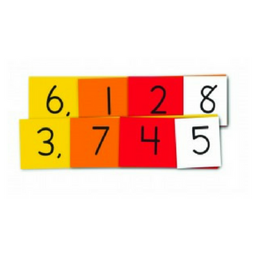 Place Value 4 Digit Strips (Student Size)