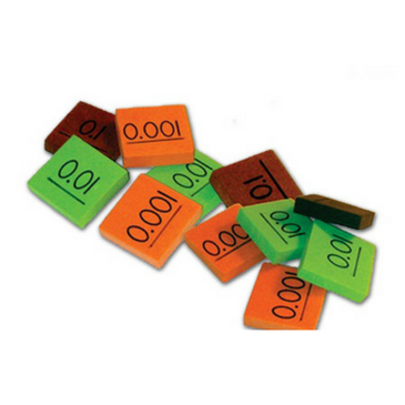 Place Value Decimal Tiles (.01-.001)