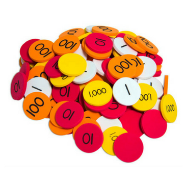 Place Value Whole Number Discs (1-1000) 00009