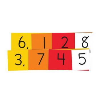 Place Value 4 Digit Strips (DEMO Set) 402650