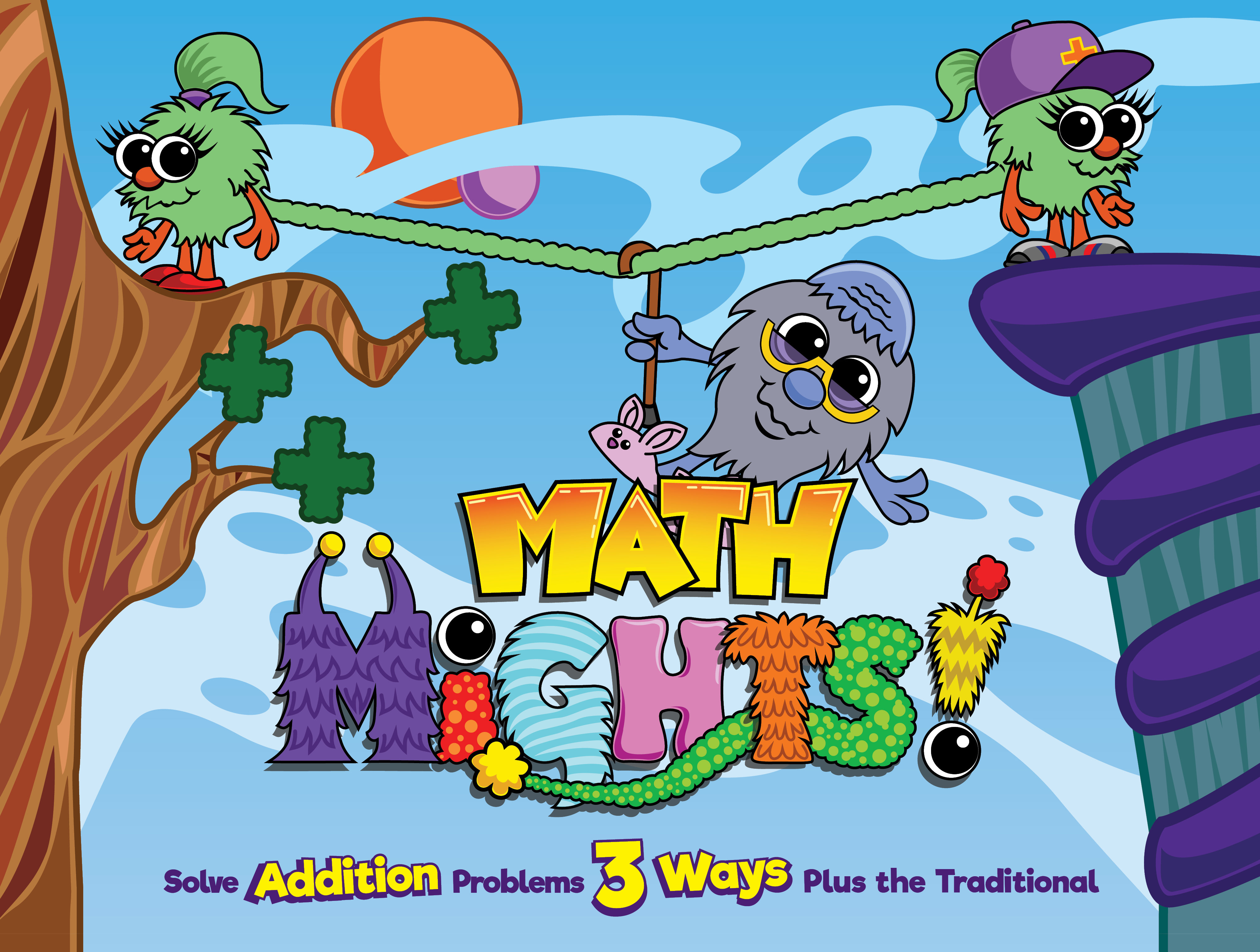 Math Mights 8-in-1 Flip Chart: Addition Strategies 9780999676721 54500