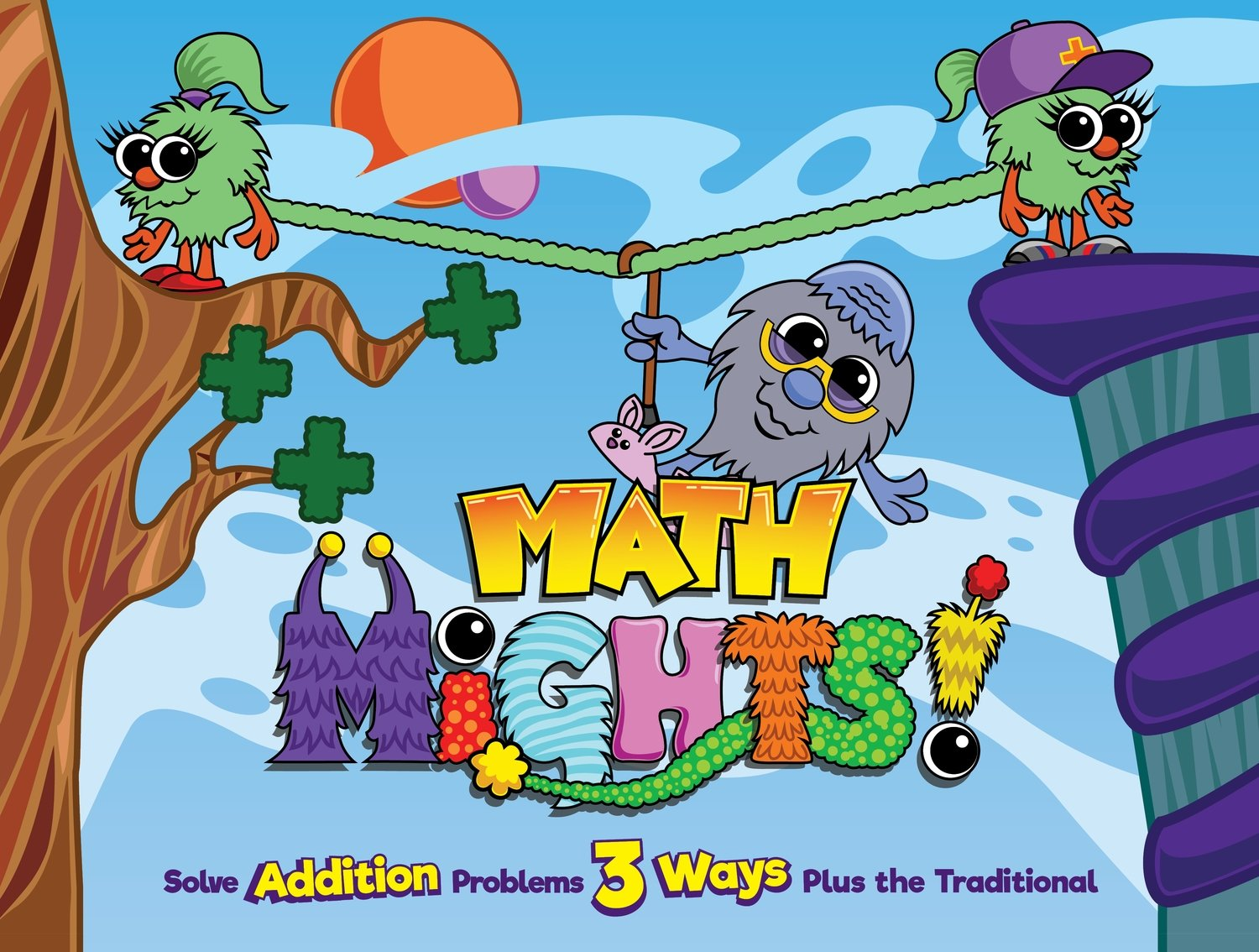 Math Mights 8-in-1 Flip Chart: Addition Strategies