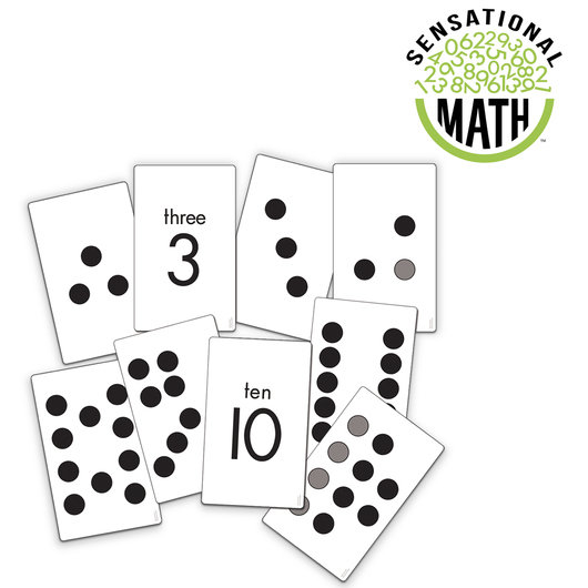 Sensational Math Subitizing Activity Cards 550294